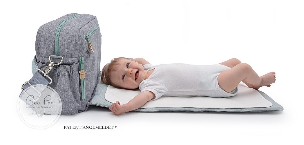 Wickeltasche aus Europa, grosse Wickeltasche, Babyausstattung