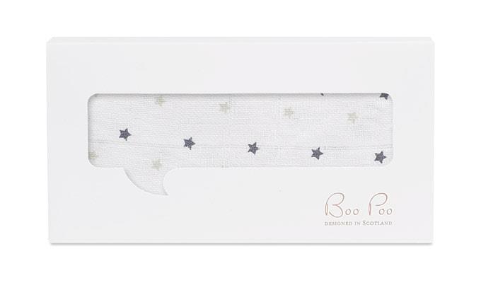 Muselintücher mit Sternen