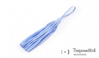 Wickeltaschenanhänger hellblau