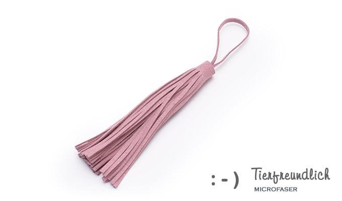 Wickeltaschenanhänger rosa
