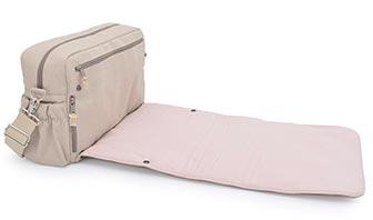 Rosafarbene Wickeltaschen, nicht kitschige Wickeltaschen