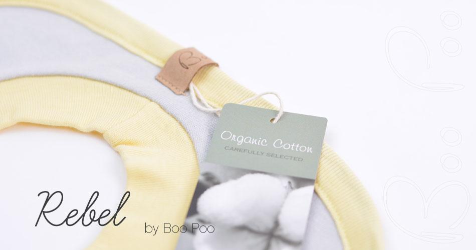 Geburtsgeschenk für die Babyausstattung, Lätzchen gelb, grau