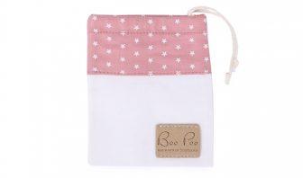 Rosa Schnullertasche für Baby Mädchen