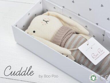 Geschenke für Eltern online kaufen Kuschelhäschen Mauve