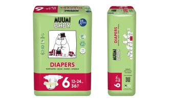 Babywindeln Bio Muumi Junior 12-24kg