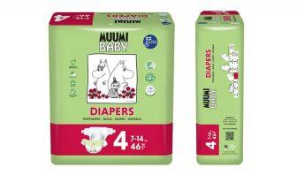 Baby Windeln Bio Muumi 7-14kg